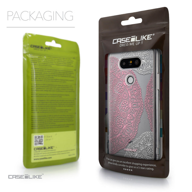 Packaging - CASEiLIKE LG G5 back cover Mandala Art 2305