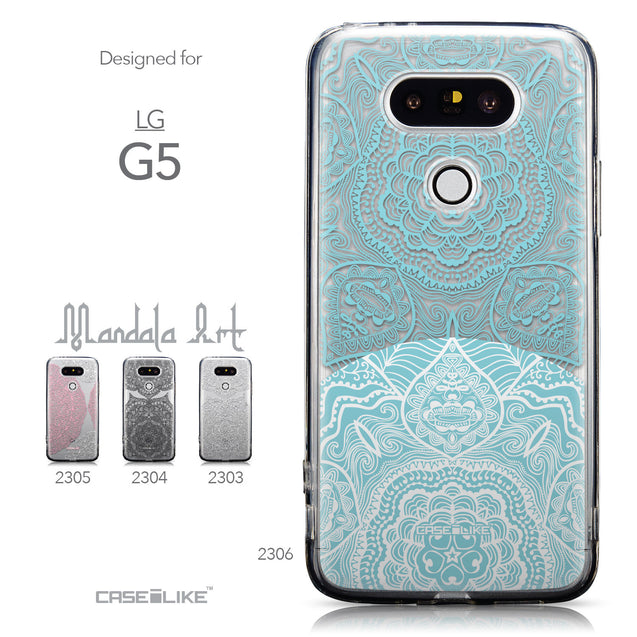 Collection - CASEiLIKE LG G5 back cover Mandala Art 2306