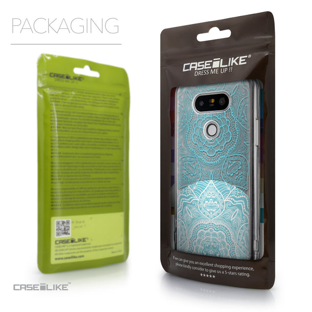 Packaging - CASEiLIKE LG G5 back cover Mandala Art 2306