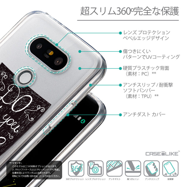 Details in Japanese - CASEiLIKE LG G5 back cover Quote 2400