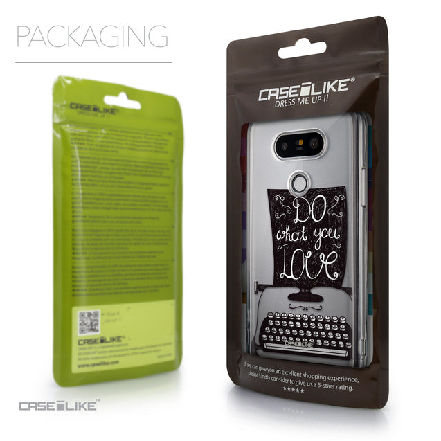 Packaging - CASEiLIKE LG G5 back cover Quote 2400