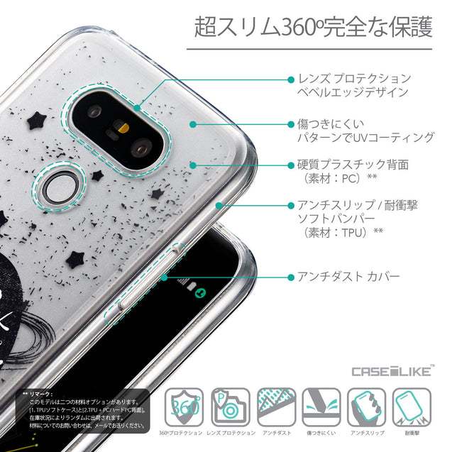 Details in Japanese - CASEiLIKE LG G5 back cover Quote 2401