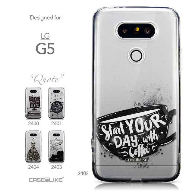 Collection - CASEiLIKE LG G5 back cover Quote 2402