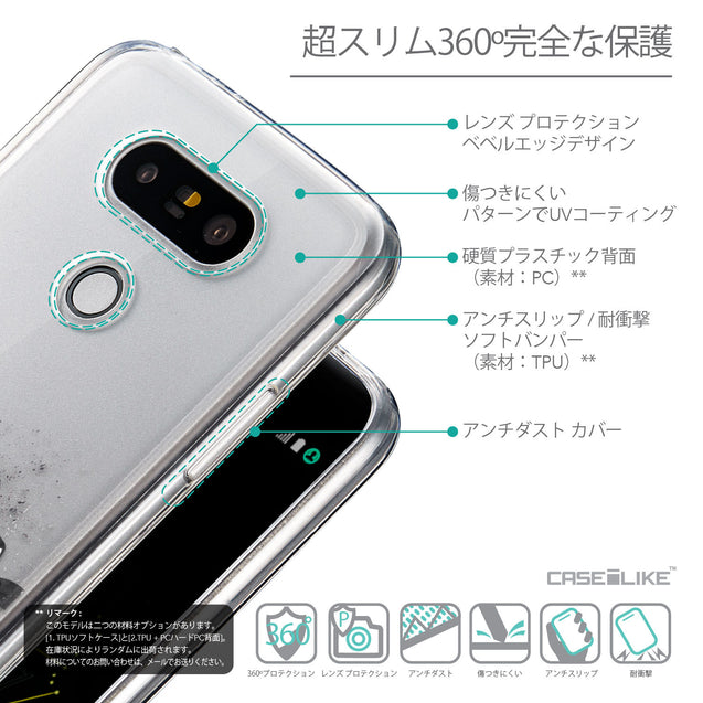 Details in Japanese - CASEiLIKE LG G5 back cover Quote 2402
