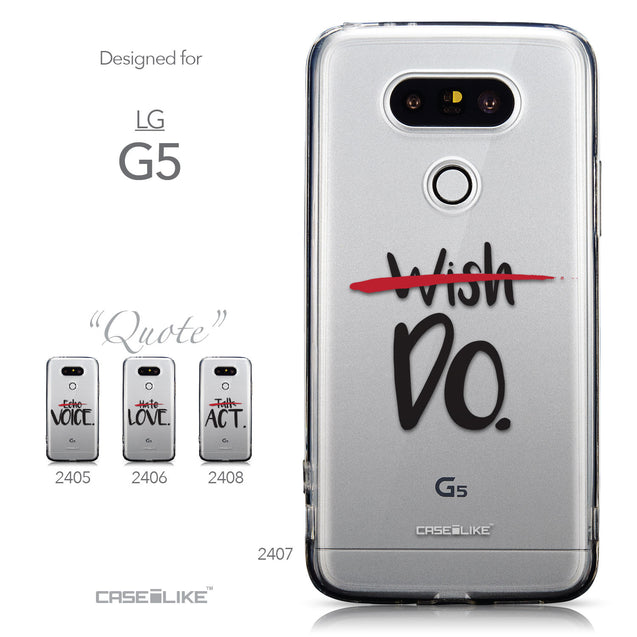 Collection - CASEiLIKE LG G5 back cover Quote 2407