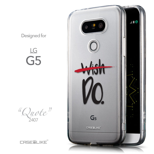 Front & Side View - CASEiLIKE LG G5 back cover Quote 2407