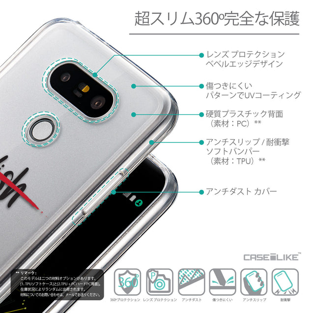 Details in Japanese - CASEiLIKE LG G5 back cover Quote 2407