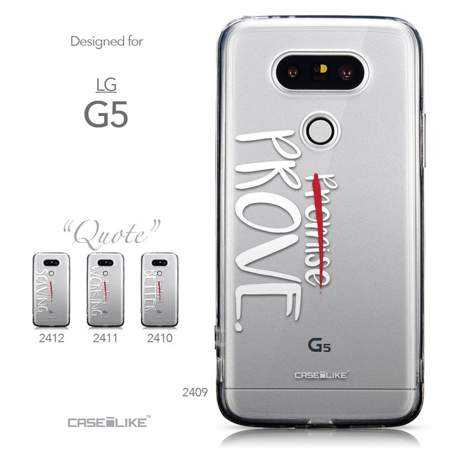 Collection - CASEiLIKE LG G5 back cover Quote 2409