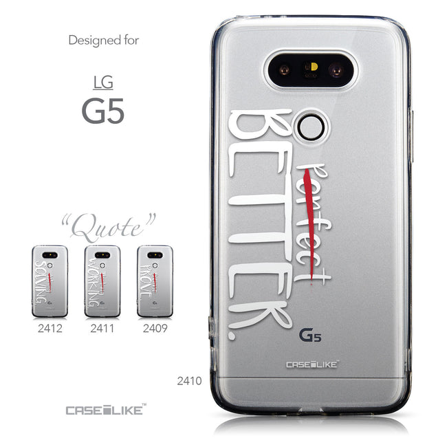 Collection - CASEiLIKE LG G5 back cover Quote 2410