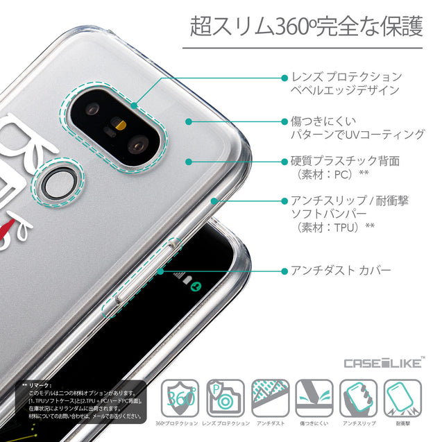 Details in Japanese - CASEiLIKE LG G5 back cover Quote 2410