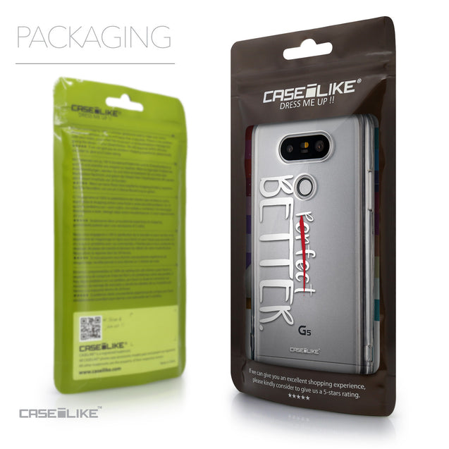 Packaging - CASEiLIKE LG G5 back cover Quote 2410