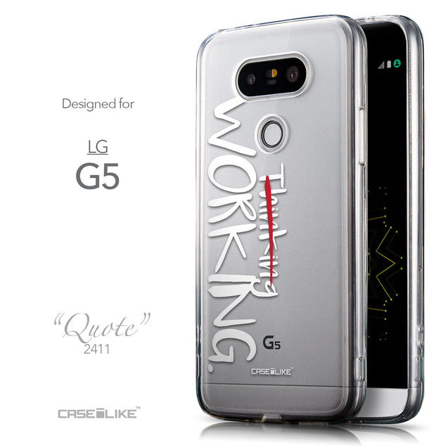 Front & Side View - CASEiLIKE LG G5 back cover Quote 2411