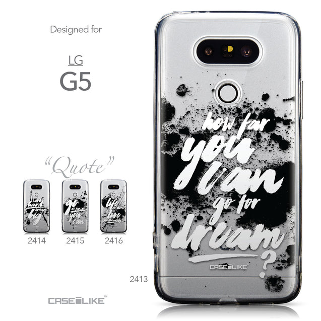 Collection - CASEiLIKE LG G5 back cover Quote 2413
