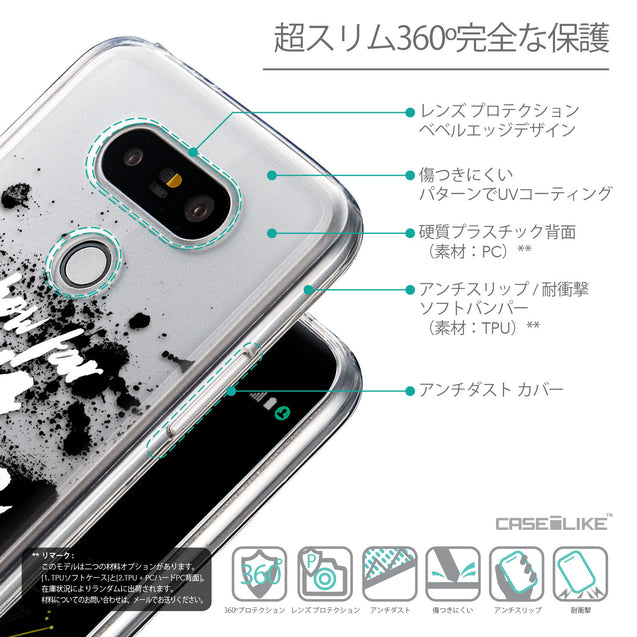 Details in Japanese - CASEiLIKE LG G5 back cover Quote 2413