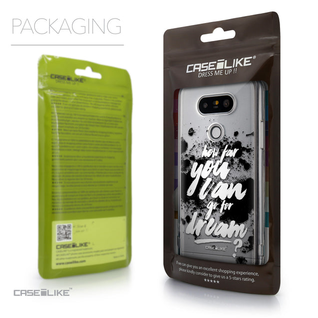 Packaging - CASEiLIKE LG G5 back cover Quote 2413