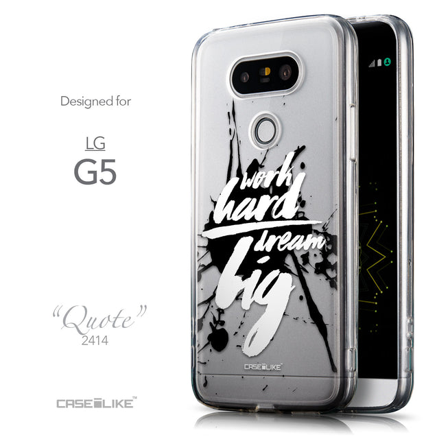 Front & Side View - CASEiLIKE LG G5 back cover Quote 2414