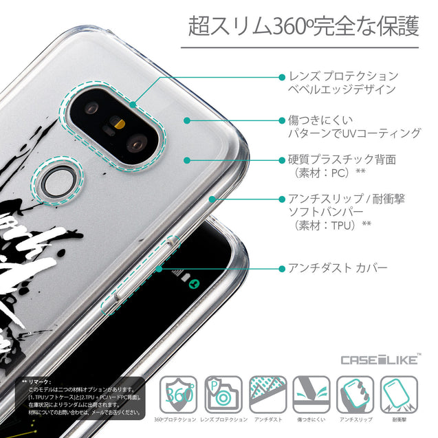 Details in Japanese - CASEiLIKE LG G5 back cover Quote 2414