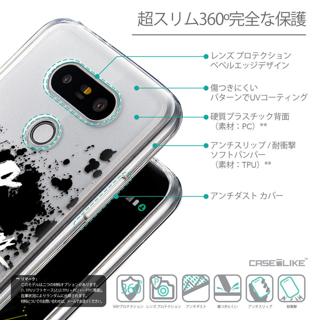 Details in Japanese - CASEiLIKE LG G5 back cover Quote 2415