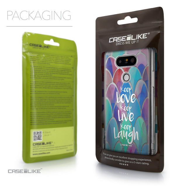 Packaging - CASEiLIKE LG G5 back cover Quote 2417