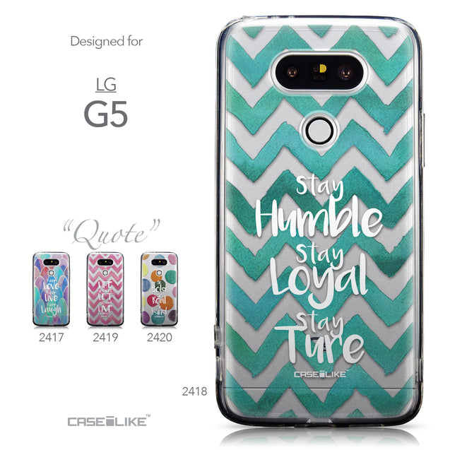 Collection - CASEiLIKE LG G5 back cover Quote 2418