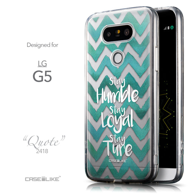 Front & Side View - CASEiLIKE LG G5 back cover Quote 2418