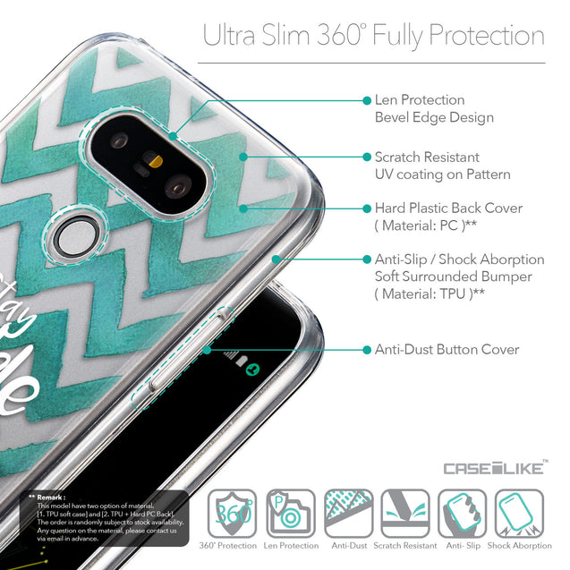 Details in English - CASEiLIKE LG G5 back cover Quote 2418