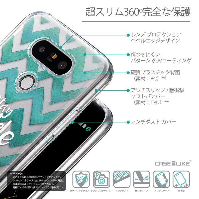 Details in Japanese - CASEiLIKE LG G5 back cover Quote 2418