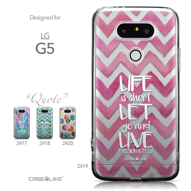 Collection - CASEiLIKE LG G5 back cover Quote 2419