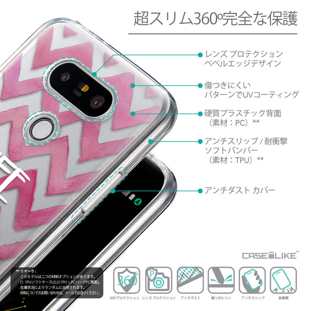 Details in Japanese - CASEiLIKE LG G5 back cover Quote 2419
