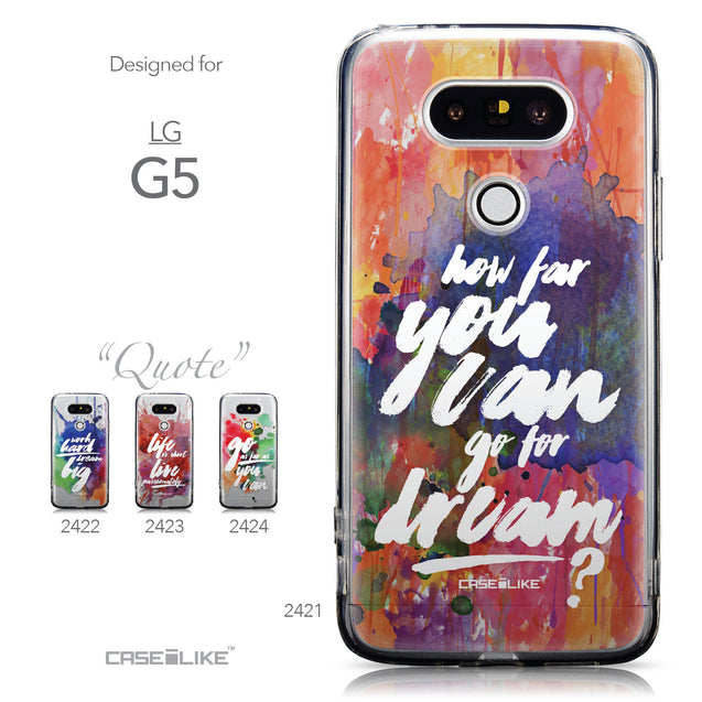 Collection - CASEiLIKE LG G5 back cover Quote 2421