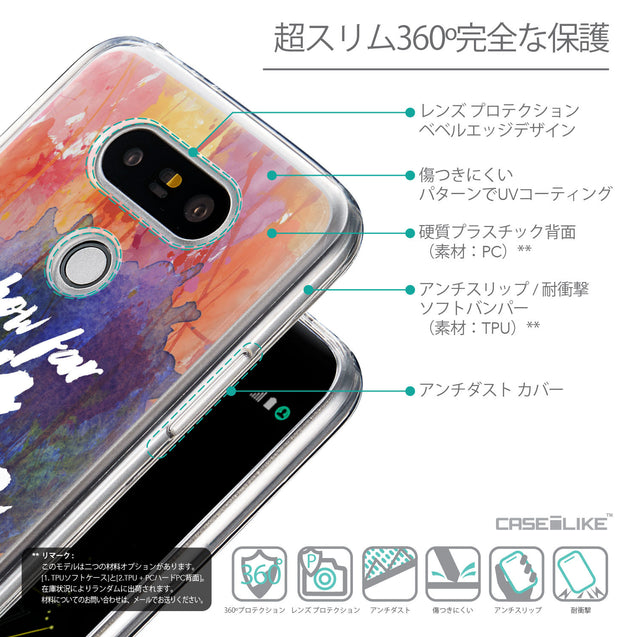 Details in Japanese - CASEiLIKE LG G5 back cover Quote 2421