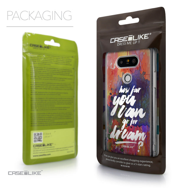 Packaging - CASEiLIKE LG G5 back cover Quote 2421