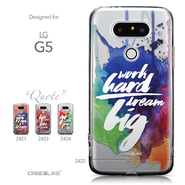 Collection - CASEiLIKE LG G5 back cover Quote 2422