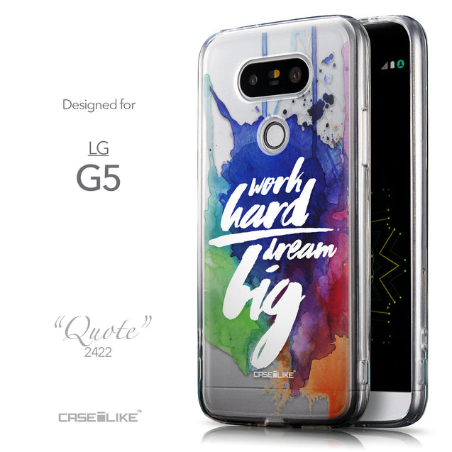 Front & Side View - CASEiLIKE LG G5 back cover Quote 2422