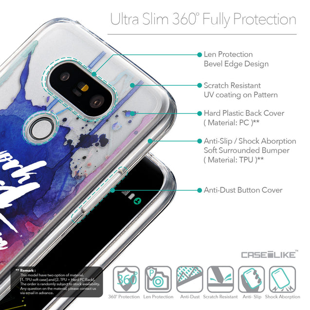 Details in English - CASEiLIKE LG G5 back cover Quote 2422