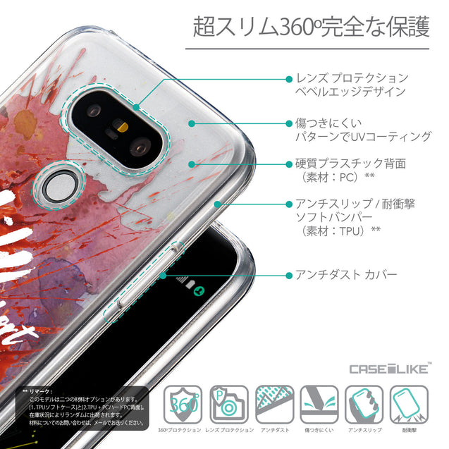 Details in Japanese - CASEiLIKE LG G5 back cover Quote 2423