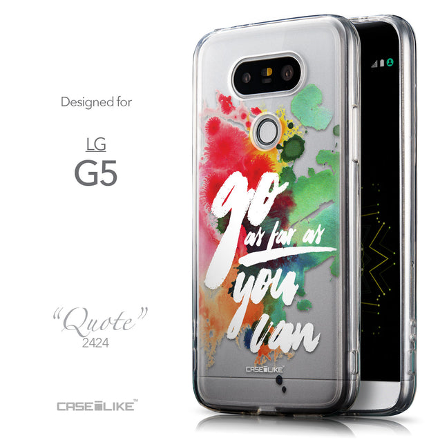 Front & Side View - CASEiLIKE LG G5 back cover Quote 2424