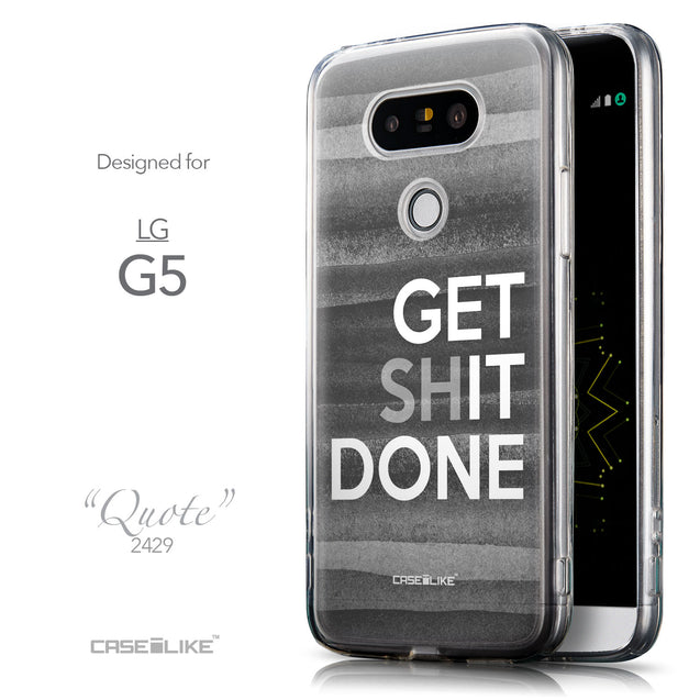 Front & Side View - CASEiLIKE LG G5 back cover Quote 2429