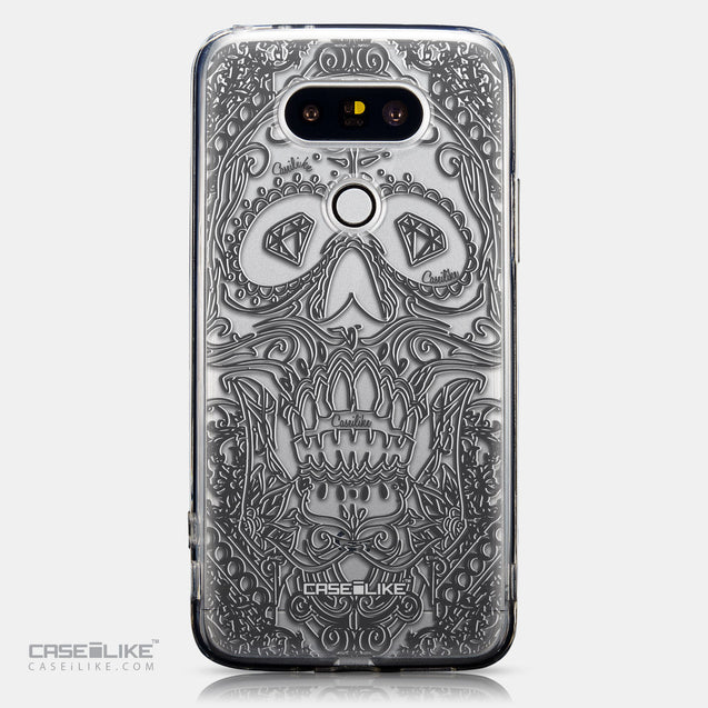 CASEiLIKE LG G5 back cover Art of Skull 2524
