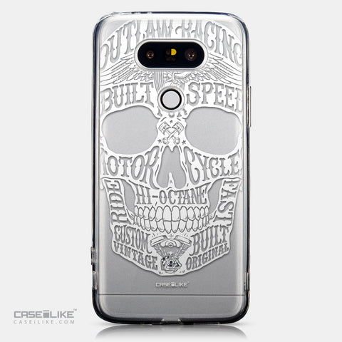 CASEiLIKE LG G5 back cover Art of Skull 2530