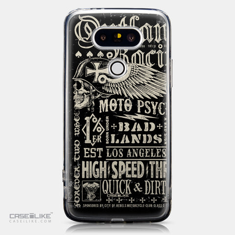 CASEiLIKE LG G5 back cover Art of Skull 2531