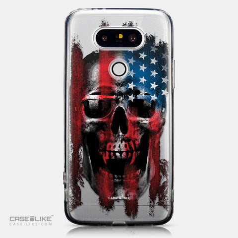 CASEiLIKE LG G5 back cover Art of Skull 2532