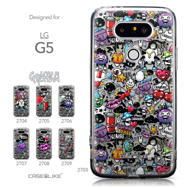 Collection - CASEiLIKE LG G5 back cover Graffiti 2703