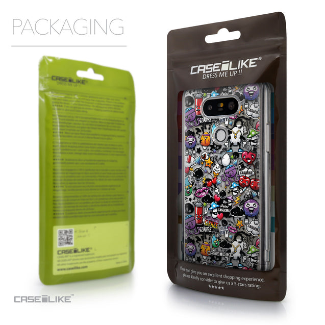 Packaging - CASEiLIKE LG G5 back cover Graffiti 2703