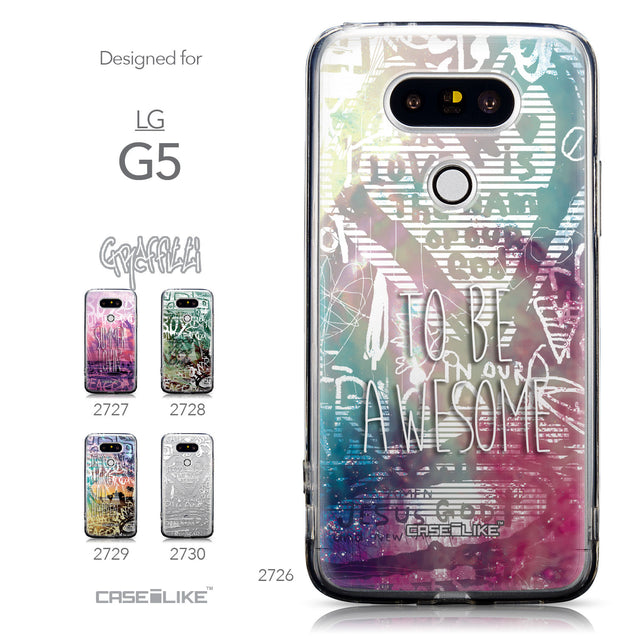 Collection - CASEiLIKE LG G5 back cover Graffiti 2726