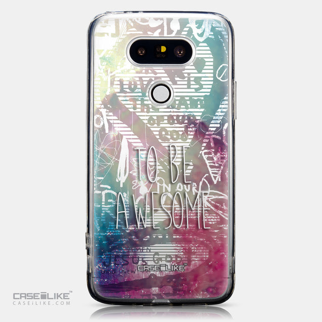 CASEiLIKE LG G5 back cover Graffiti 2726