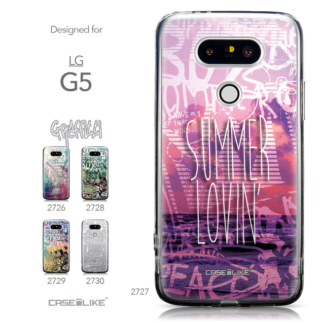 Collection - CASEiLIKE LG G5 back cover Graffiti 2727