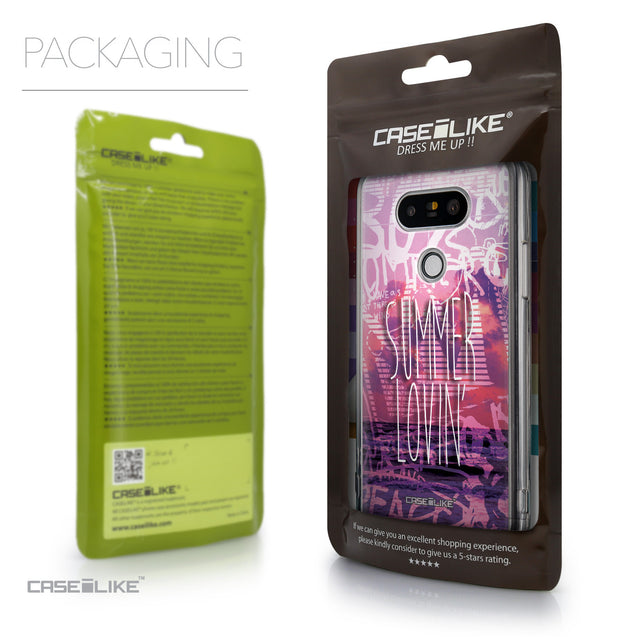 Packaging - CASEiLIKE LG G5 back cover Graffiti 2727
