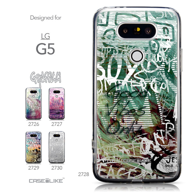 Collection - CASEiLIKE LG G5 back cover Graffiti 2728