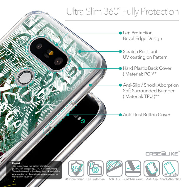 Details in English - CASEiLIKE LG G5 back cover Graffiti 2728